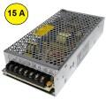 Fonte Chaveada 12V 15A Bivolt - p/ Monitores, CFTV, Roteador e uso em Geral