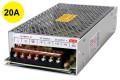 Fonte Chaveada 12V 20A Bivolt - p/ Monitores, CFTV, Roteador e uso em Geral